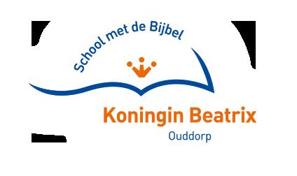 Logo School met de Bijbel 'Koningin Beatrix'